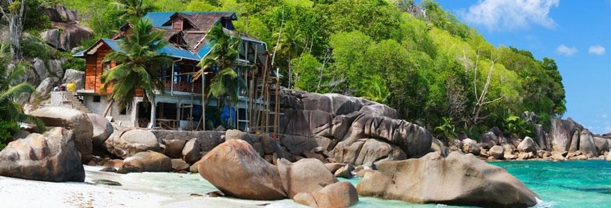 Seychelles hôtels pas chers