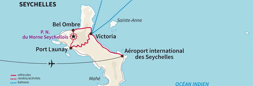 Seychelles et sa géographie
